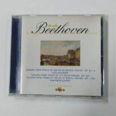 CDs de Música: TODO BEETHOVEN. SONATA PARA PIANO Nº 26 EN MI BEMOL MAYOR OP. 81 LOS ADIOSES. ALTAYA. CD. TDKCD129. Lote 294448008
