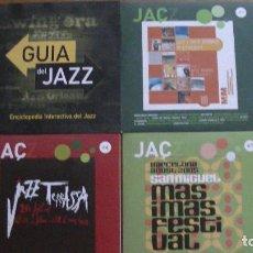 CDs de Música: CD JAÇZ Nº 1-6-7 + GUIA DEL JAZZ. (4 CD). Lote 294448153