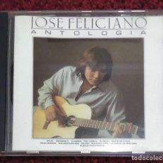 CDs de Música: JOSE FELICIANO (ANTOLOGIA) CD 1990. Lote 294456338