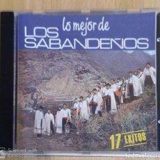 CDs de Música: LOS SABANDEÑOS (LO MEJOR DE LOS SABANDEÑOS - 17 EXITOS) CD 1988. Lote 294458033