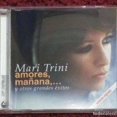 CDs de Música: MARI TRINI (AMORES, MAÑANA,... Y OTROS GRANDES EXITOS) CD 2003. Lote 294458698
