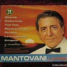 CDs de Música: PAOLO MANTOVANI (LATINO) 2 CD'S 2002 * VER FOTOS. Lote 294460963