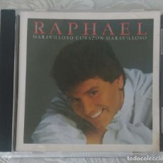 CDs de Música: RAPHAEL (MARAVILLOSO CORAZON MARAVILLOSO) CD 1989 EDICIÓN USA. Lote 294462938