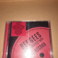 CDs de Música: CD BEE GEES THEIR GREATEST HITS. Lote 294504713