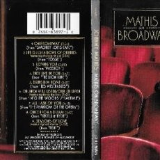 CDs de Música: JOHNNY MATHIS - MATHIS ON BROADWAY. Lote 294505508