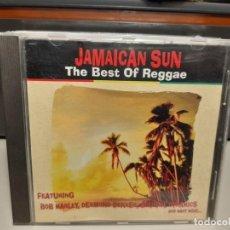CDs de Música: CD JAMAICAN SUN / THE BEST OF REGGAE ( BOB MARLEY, RAGGAJAM, DESMOND DEKKER, SOULFUL DYNAMICS, ETC. Lote 294552763