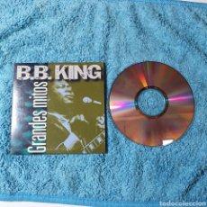 CDs de Música: PRC-13. GRANDES MITOS - B.B. KING 5 TEMAS, PERFECTO ESTADO EL FOTOGRAFIADO.. Lote 294553348