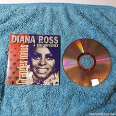 CDs de Música: PRC-13. GRANDES MITOS - DIANA ROSS & THE SUPREMES - 5 TEMAS, PERFECTO ESTADO EL FOTOGRAFIADO.. Lote 294553823