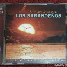 CDs de Música: LOS SABANDEÑOS (TIERRA AIRE AGUA FUEGO - LOS GRANDES EXITOS) 2 CD'S 1998 - MARIA DOLORES PRADERA. Lote 294807263