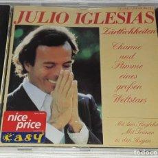 CDs de Música: CD - JULIO IGLESIAS - ZARTLICHKEITEN - JULIO IGLESIAS CANTA EN ALEMAN. Lote 294818138