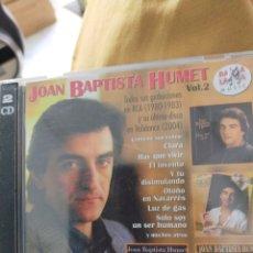 CDs de Música: JOAN BAPTISTA HUMET VOL.2 2 CD. Lote 294822563