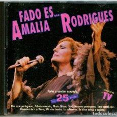 CDs de Música: AMALIA RODRIGUES - EL FADO ES... - CD SPAIN 1990 - EMI 7954932. Lote 294940228
