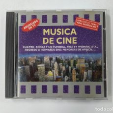 CDs de Música: MUSICA DE CINE. CUATRO BODAS Y UN FUNERAL. PRETTY WOMAN. MEMORIAS DE AFRICA. TDKCD134. Lote 294946998