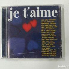 CDs de Música: JE T' AIME. VOL. VOLUMEN 2. DOBLE CD. VARIOS ARTISTAS. TDKCD134. Lote 294947428
