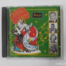 CDs de Música: MELODIAS DE NAVIDAD. FERRYS. FRANK SINATRA. THE PLATTERS. NAT KING COLE... CD. TDKCD134. Lote 294947908