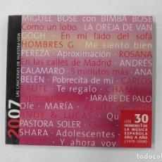 CDs de Música: LAS CANCIONES DE NUESTRA VIDA. 2007. CD. TDKCD134. Lote 294948443