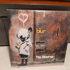 CDs de Música: CD BLUR ( THE OBSERVER ) EXCLUSIVE 5 TRACK CD. Lote 294971023