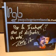 CDs de Música: CD PAQUITO GROOVE BAND ( MARC PAQUITO RUIZ Y SU BANDA) SR. FUNKY. Lote 294971558
