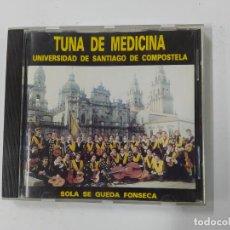 CDs de Música: TUNA DE MEDICINA UNIVERSIDAD DE SANTIAGO DE COMPOSTELA. SOLA SE QUEDA FONSECA. CD. TDKCD136. Lote 294971673