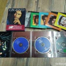 CDs de Música: LOTE 4 CD'S Y 3 DVD'S BOB MARLEY. Lote 294989458
