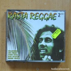 CDs de Música: VARIOS - RASTA REGGAE - 2 CD. Lote 295013438
