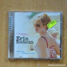 CDs de Música: THOMAS NEWMAN - ERIN BROCKOVICH - CD. Lote 295013998