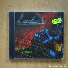 CDs de Música: LIEGE LORD - MASTER CONTROL - CD. Lote 295014038