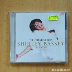 CDs de Música: SHIRLEY BASSEY - THE GREATEST HITS THIS IS MY LIFE - CD. Lote 295014113