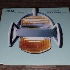 CDs de Música: JBN - ALL I WANT (REMIXES) CD SINGLE 7 REMIXES FRAGMA & JOHN B. NORMAN. Lote 295016323