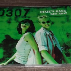 CDs de Música: DIXIE'S GANG - RUN AWAY - CD SINGLE 4 REMIXES BLANCO Y NEGRO. Lote 295021473
