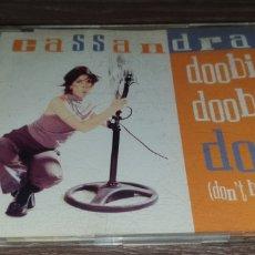 CDs de Música: CASSANDRA - DOOBI DOOBI DOO ( DON'T BE SHY ) CD SINGLE 4 REMIXES VALE MUSIC. Lote 295023003
