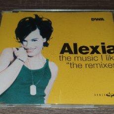 CDs de Música: ALEXIA - THE MUSIC I LIKE ( THE REMIXES ) CD MAXI 4 REMIXES. Lote 295026293