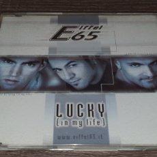 CDs de Música: EIFFEL - LUCKY ( IN MY LIFE ) CD SINGLE 8 REMIXES. Lote 295029383