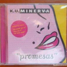 CDs de Música: K.U. MINERVA / PROMESAS / 1996 / CD / PRECINTADO. Lote 295032658