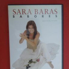 CDs de Música: SARA BARAS , SABORES - DVD - PARA CONCHA MI MADRE. Lote 295357253