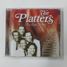 CDs de Música: THE PLATTERS. THE BEST SONGS. CD. TDKCD141. Lote 295376508