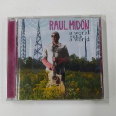CDs de Música: RAUL MIDON. A WORLD WITHIN A WORD. CD. TDKCD143. Lote 295377213