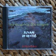CDs de Música: FUXAN OS VENTOS NA MEMORIA DOS TEMPOS 2002 CD MUSICA CELTA GALEGA GALICIA. Lote 295409858