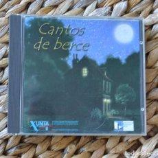 CDs de Música: CANTOS DE BERCE NANI GARCÍA, UXÍA LÓPEZ, MANUEL RICO 2001 2 CD MUSICA CELTA GALEGA GALICIA CUNA. Lote 295418803