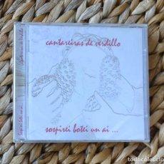 CDs de Música: CANTAREIRAS DE VERDILLO SUSPIREI BOTEI UN AI ... 2005 CD MUSICA CELTA GALEGA GALICIA. Lote 295421278