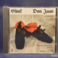 CDs de Música: ARCATA ENSEMBLE, STUTTGART / PATRICK STRUB, LEITUNG - GLUCK, DON JUAN - BALLETTMUSIK - CD. Lote 295422558
