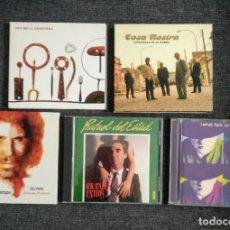CDs de Música: LOTE 5 CD FLAMENCO/RUMBA/COPLA: SON DE LA FRONTERA + COSA NOSTRA + CAMARÓN + DEL ESTAD + CARLOS CANO. Lote 295422828