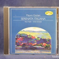 CDs de Música: MAURO GIULIANI: REZA NAJFAR, FLUTE / ALEXANDER SWETE, GUITAR - SERENATA ITALIANA - CD. Lote 295423048