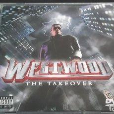 CDs de Música: CD + DVD WESTWOOD - THE TAKEOVER. Lote 295424803