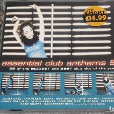 CDs de Música: 2 CD ESSENTIAL CLUB ANTHEMS 98. Lote 295425683