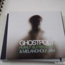 CDs de Música: GHOSTPOET PEANUT BUTTER BLUES & MELANCHOLY JAM- BROWNSWOOD RECORDING - CD - C 1. Lote 295431808