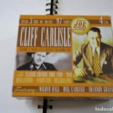 CDs de Música: CLIFF CARLISLE – VOLUME 2: WHEN I FEEL FROGGIE I'M GONNA HOP (THE CLASSIC COUNTRY SIDES 1930-1941). Lote 295436598