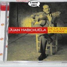 CDs de Música: JUAN HABICHUELA, DE LA ZAMBRA AL DUENDE, UN HOMENAJE, CD MERCURY, 1999. Lote 295495918