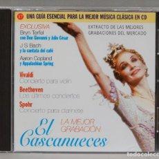 CDs de Música: CD. LA MEJOR GRABACION EL CASCANUECES. TERFEL. BACH. COPLAND. Lote 295518808