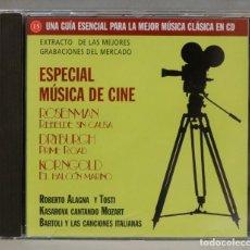 CDs de Música: CD. ESPECIAL MUSICA DE CINE. ROSENMAN. DRYBURGH. KORNGOLD. Lote 295520003